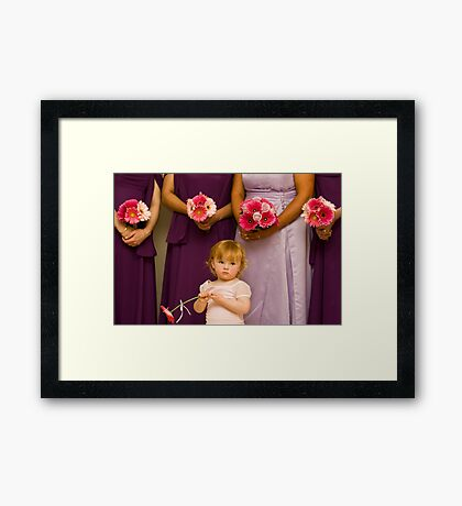 The Late Bloomer Framed Print