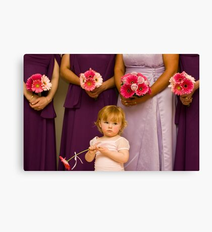 The Late Bloomer Canvas Print