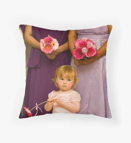 The Late Bloomer Throw Pillow