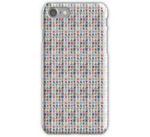 Alphabet Background iPhone Case/Skin
