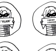 Set of 6 Bucky drawings Sticker