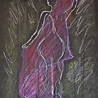 Woman Posed in Pink by Christina Rodriguez