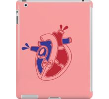 An illustration of a working heart iPad Case/Skin