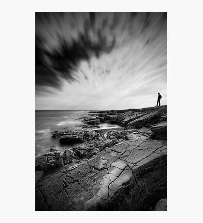 A Rocky Shore Photographic Print