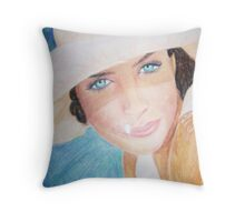 Helena Christianson drawing Throw Pillow