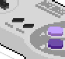 Pixel SNES Controller Sticker