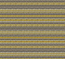 Knitted Pattern Set 11 - Stripes Yellow/Grey by wrapsio