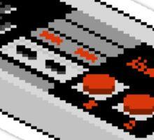 Pixel NES Controller Sticker