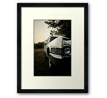 Ghostbuster's Ambulance Framed Print