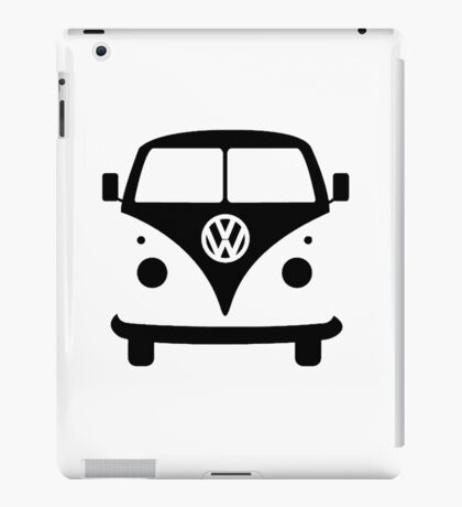 VW splittie bus outline iPad Case/Skin