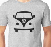 VW splittie bus outline Unisex T-Shirt