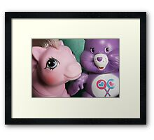 Child of the 80's Framed Print