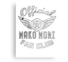 Mako Fan Club Metal Print