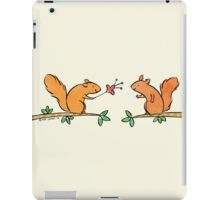 Tickle Tickle Little Squirrel iPad Case/Skin