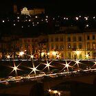 Miniato at Night by Laura Cameron