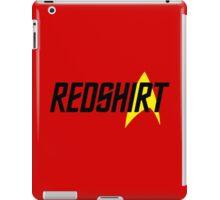 Federation Redshirt Design iPad Case/Skin
