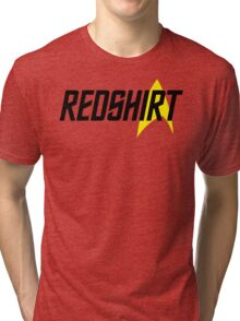 Federation Redshirt Design Tri-blend T-Shirt