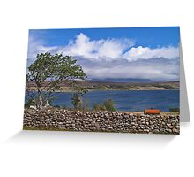 Tranquility at Loch Broom Greeting Card