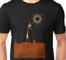 Kokopelli Comes Unisex T-Shirt
