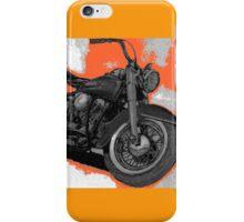 Hydra Glide, orange panel iPhone Case/Skin
