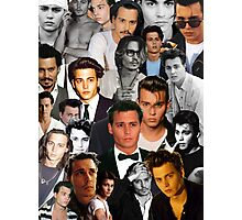 Johnny Depp Collage Photographic Print