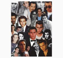 Johnny Depp Collage Kids Clothes