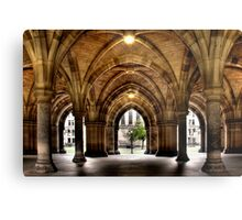 Cloisters at the University Metal Print