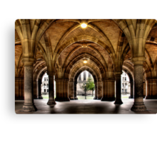 Cloisters at the University Canvas Print