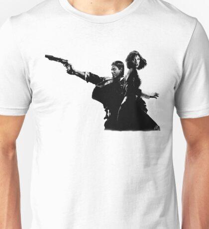 Elizabeth and Booker Unisex T-Shirt