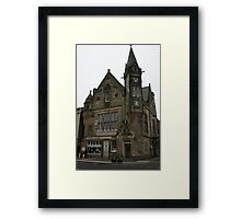 St. Andrews Record Store Framed Print