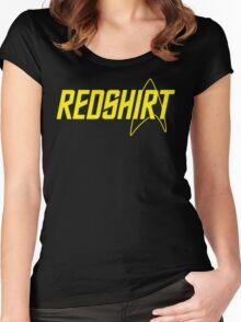 Federation Redshirt Design Women's Fitted Scoop T-Shirt