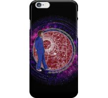 Wibbly Wobbly - Blue iPhone Case/Skin
