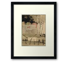 the not-so-great divide Framed Print