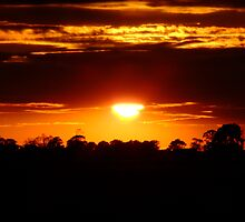 East Anglian Sunset by grezmel