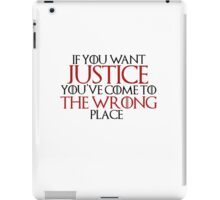 Wrong Place iPad Case/Skin