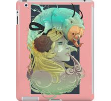 Alice and Caterpillar iPad Case/Skin