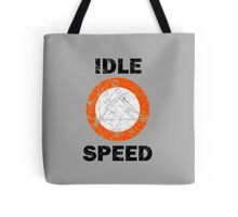 Idle Speed Nautical Signage Tote Bag