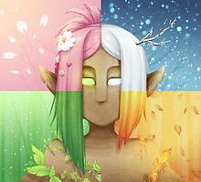 Dryad Seasons by Grace Roche