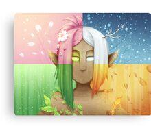 Dryad Seasons Canvas Print