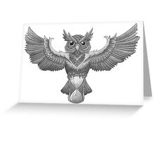 time owl Greeting Card
