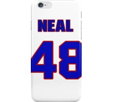 National baseball player Neal Cotts jersey 48 iPhone Case/Skin