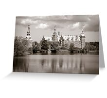 Frederiksborg Slot Greeting Card
