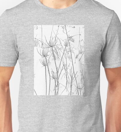 Teasels and Snow Unisex T-Shirt