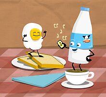 Breakfast Boogie by pencilfury