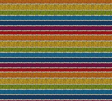 Knitted Pattern Set 19 - Rainbow 3 by wrapsio