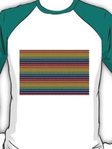 Knitted Pattern Set 19 - Rainbow 3 T-Shirt