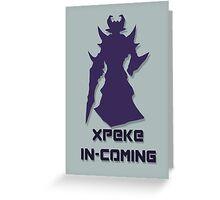 Kassadin - xPeke  Greeting Card