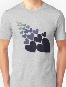 Retro blue love T-Shirt