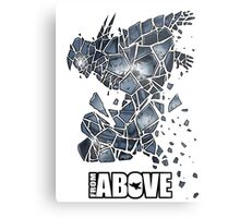 From Above Comic Metal Print