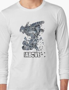 From Above Comic Long Sleeve T-Shirt